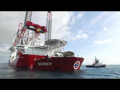 Seajacks Scylla discharge
