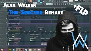 Fl Studio | Alan Walker The Spectre Remake | + Free FLP