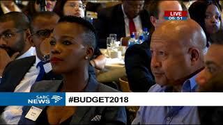 Tony Ehrenreich - Unpacking #Budget 2018