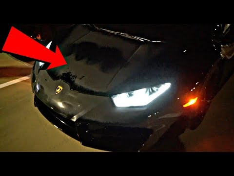 CAN'T BELIEVE THIS REALLY HAPPENED TO DAMIEN'S LAMBORGHINI