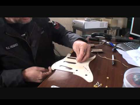 Electric Guitar-D.I.Y. Pickup Installation And Guitar Wiring-Part ...
