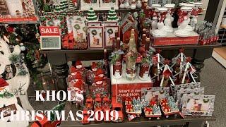 KHOLS CHRISTMAS DECOR 2019!! |HOLIDAY EDITION!!!WALKTHROUGH AND COME WITH ME!!🎄
