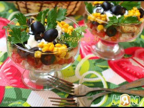салат с сухариками пошаговый рецепт
