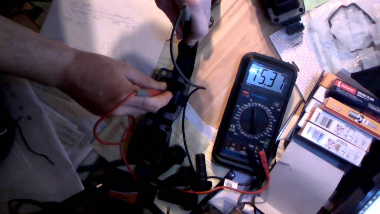 Измеряем сопротивление катушки зажигания