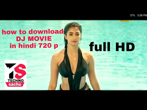 How to download DJ movie in Hindi and Tamil full HD 720p .. By sachu bhambre