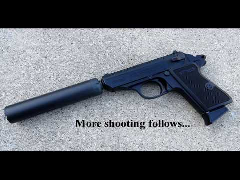 Walther PPK/S .22lr - Suppressed - uswg01