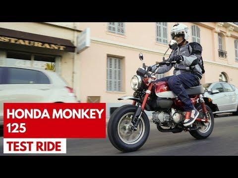 Honda Monkey 125 2018 | Test ride della rinnovata moto iconica giapponese