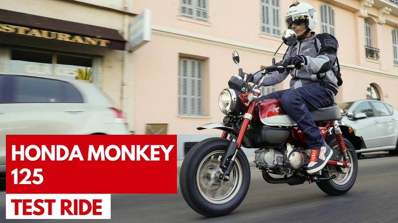honda monkey 125 2018 test ride della rinnovata moto iconica giapponese youtube. Black Bedroom Furniture Sets. Home Design Ideas