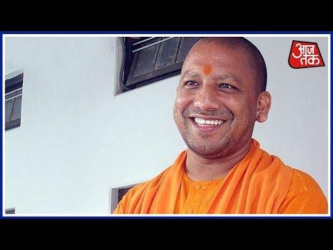 Watch CM Yogi Perform Kanya Pujan On The Occasion Of Ram Navami