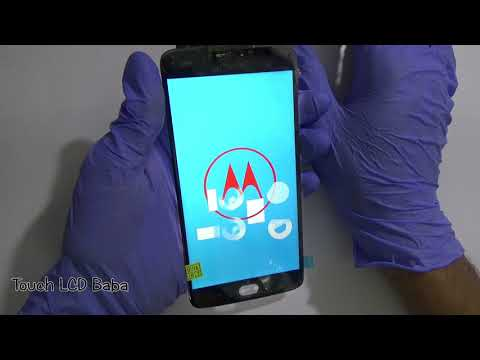 Moto E4 Plus XT1770 Display and Touch Screen Replacement Video