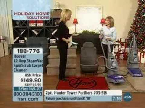 Hoover 12 Amp Steamvac Spinscrub Carpet Cleaner Youtube