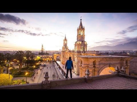 Jeff Almost Got Arrested  I  Arequipa Peru Travel Vlog