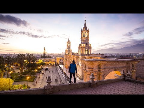 Jeff Almost Got Arrested  I  Arequipa Peru Travel Vlog