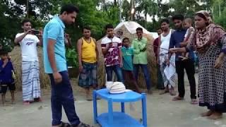 Bangladeshi Village Couple Game /বরশি দিয়ে বরের মাথায় পাগরি পড়ানো/ EID-2019 /Boirati tv