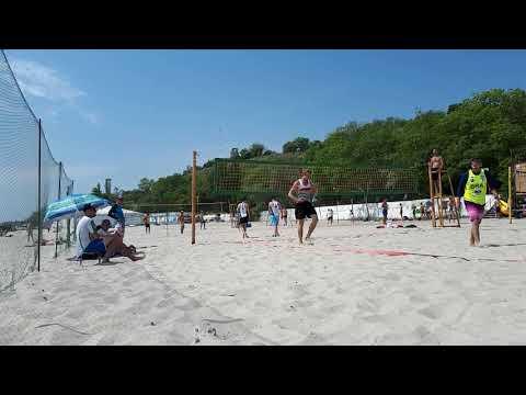 Одесса май 2019. Пляжный волейбол. 2 партия