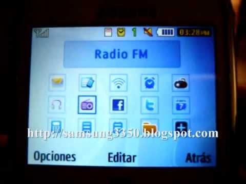 Configurar La Barra De Herramientas En El Samsung Chat 335