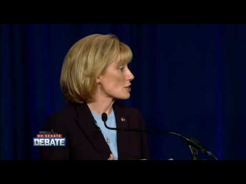 Maggie Hassan Gets Pressed For Not Being Able To Call Hillary Clinton Trustworthy