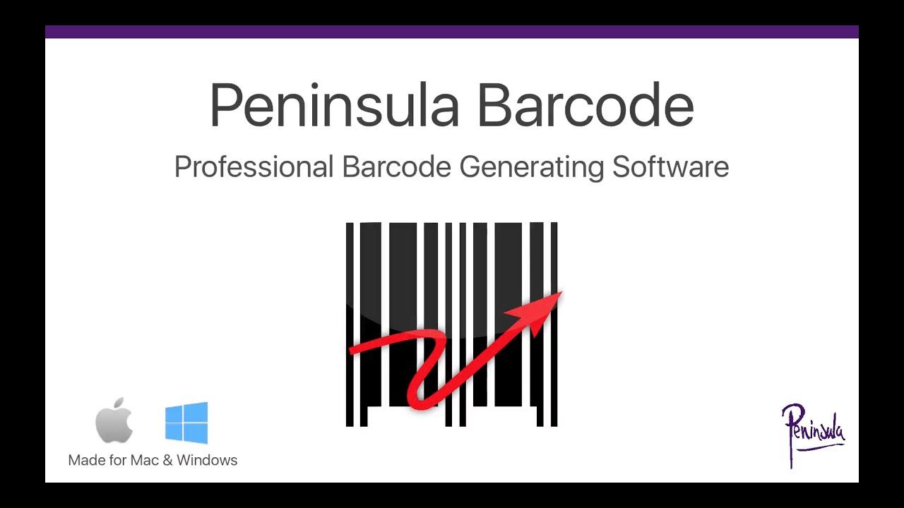 Barcode | Barcode Generator for Mac and Windows - Barcode
