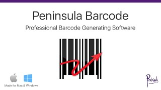 Barcode Software for Mac and Windows - Professional Barcode Generator