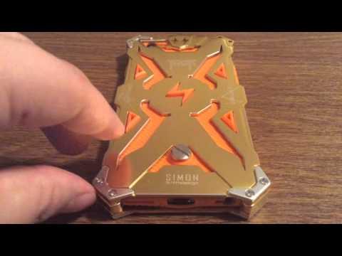 "Newisdom Thor Simon Sturdy iPhone 6 4.7"" Heavy Duty Metal Case Review"