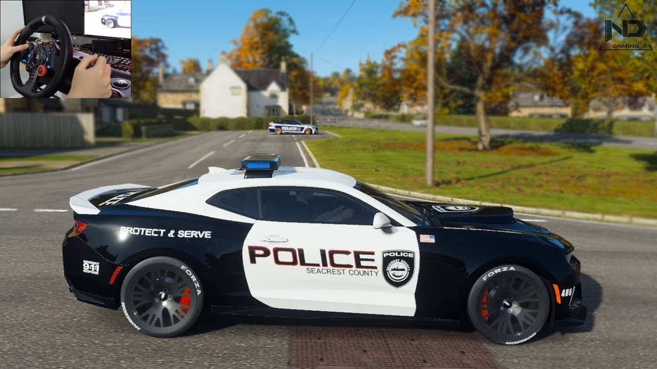 Forza Horizon 4 #17 - Làm cảnh sát rượt đuổi những tên trộm siêu xe | ND Gaming