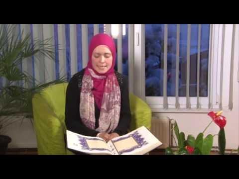 Učenje Kur'ana - hafiza Merjem Kapo (Ašere Lillahi)