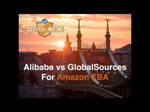 Alibaba vs GlobalSources For Amazon FBA