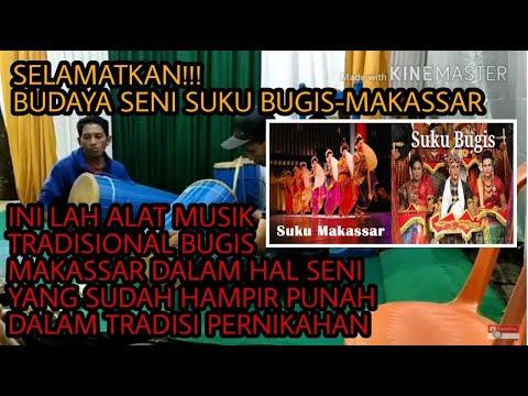 Musik ala adat bugis Makassar..