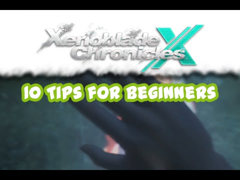 xenoblade chronicles x starting guide