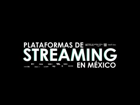 Estas son todas las plataformas de streaming en México