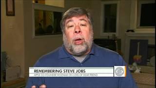 Apple co-founder Wozniak on loss of Jobs