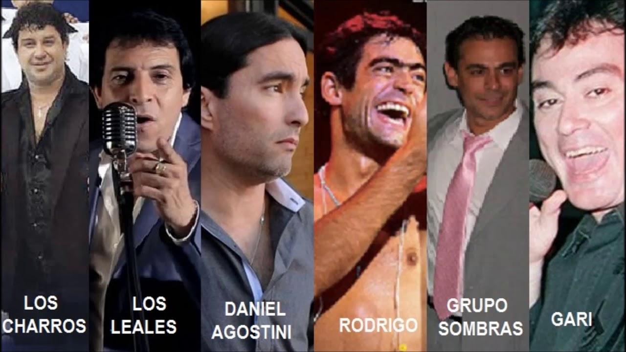 Enganchado Cumbia y cuarteto Los Charros Gari Daniel Agostini Rodrigo Grupo Sombras Los Leales etc