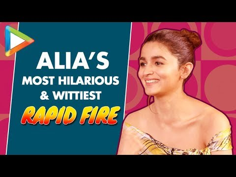 "Alia Bhatt: ""A Song I'd Like to DEDICATE to Ranbir Kapoor is…""| Rapid Fire | Kalank | Brahmastra"