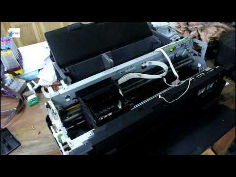 Thao tác lắp máy in màu epson 1430 một cách đơn giản nhất  How to fix