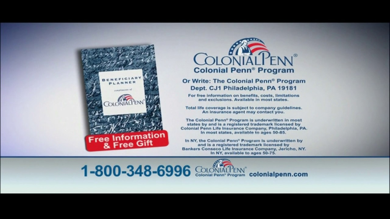 Colonial Penn Life Insurance Quotes Life Insurance Over 50 With Free Gift  Raipurnews