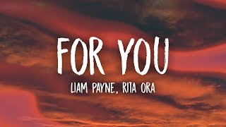 Liam Payne, Rita Ora - For You (Lyrics) Fifty Shades Freed