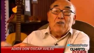 Cuarto Poder: Un homenaje a nuestra primera guitarra Óscar Avilés