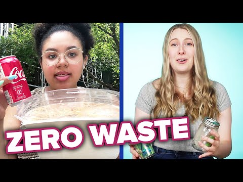 We Tried Living Zero Waste For One Week