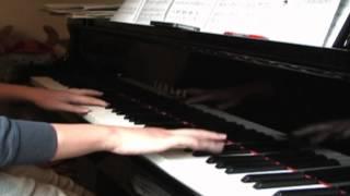 楽譜は、ヤマハの「月刊ピアノ2008年8月号」のものを使いました。 全体...