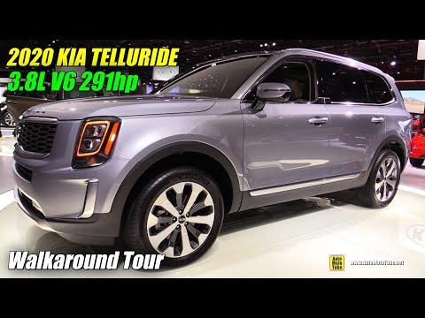2020 KIA Telluride - Exterior and Interior Walkaround - Debut at Detroit Auto Show 2019