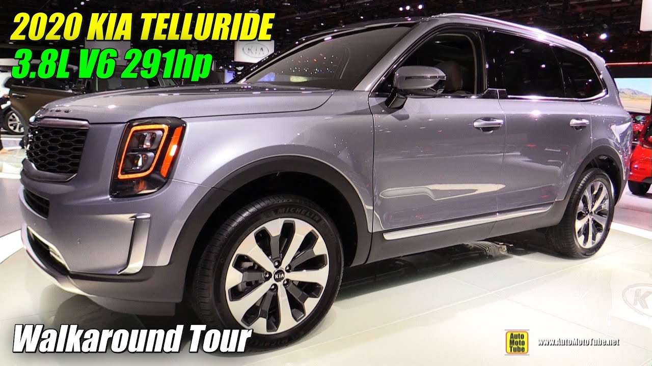 2020 Kia Telluride Exterior And Interior Walkaround Debut At