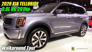 2020 KIA Telluride - Exterior and Interior Walkaround - Debut at Detroit Auto Show 2019
