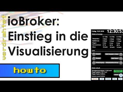ioBroker Vis #1 - Einstieg in die Visualisierung