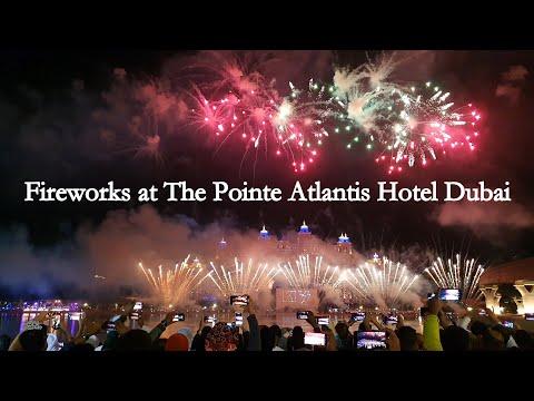 Fireworks Dubai 2021 at The Pointe Palm Jumeirah || Best ever Fireworks in Dubai 2021
