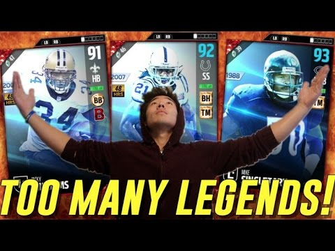 CAN THIS TEAM BE BEATEN!? LEGEND BOB SANDERS! MADDEN ULTIMATE TEAM 17
