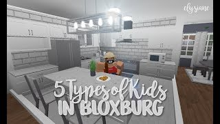 ROBLOX | 5 Different Types of Kids on Bloxburg