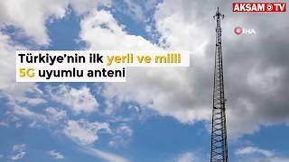 ASELSAN Yaptı... İşte İlk Yerli Ve Milli 5G Uyumlu Mobil İletişim Anteni!