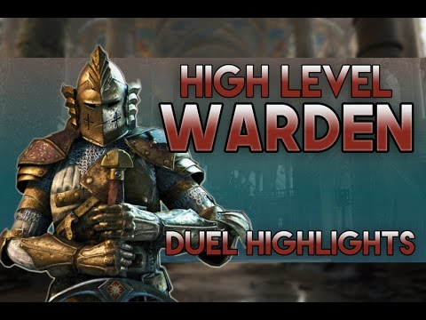 For Honor - High Level Warden Duel Highlights