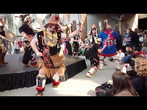 Dakhka Klhwaan - Inland Tlingit Dancers 2014 Coastal First Nations Dance Festival