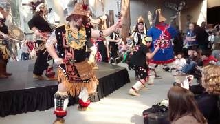 Dakhka Klhwaan - Inland Tlingit Dancers 2014 Coastal First Nations Dance Festival